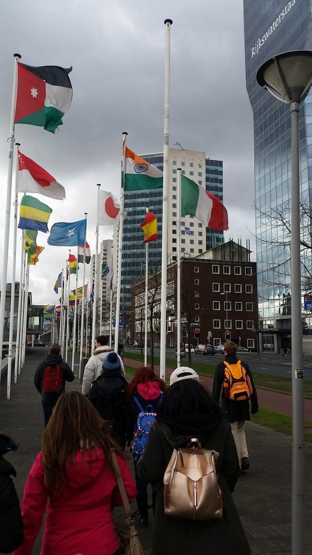 Rotterdam, accanto ponte Erasmus - foto di Gabriele Morrone